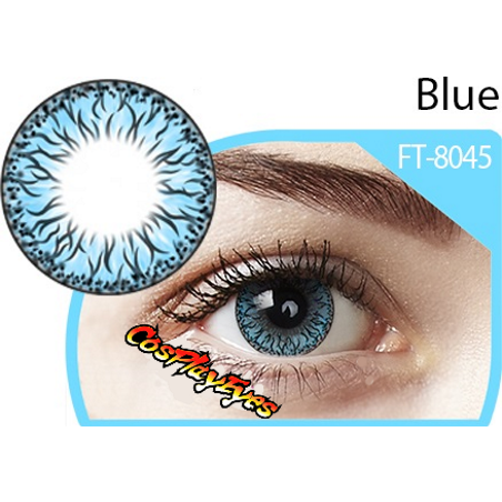 Big Blue Doll Contact Lenses