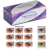 Freshlook Colorblends Contact Lenses Colors