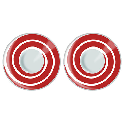 Red Rinnegan Circular Contact Lenses