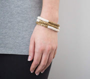 Aid Through Trade Earrings Aid Through Trade | Hema Statement Roll-On Bracelets in Cream
