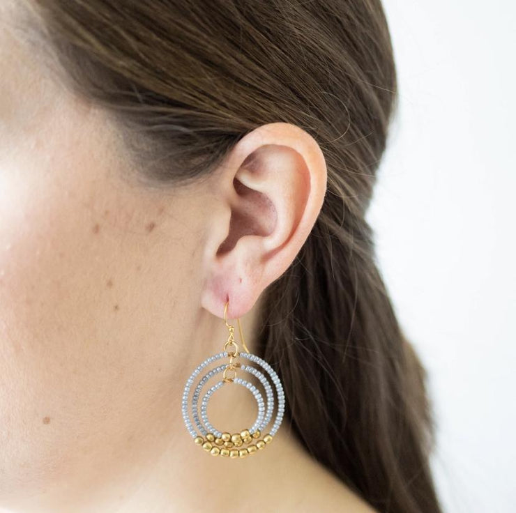 Aid Through Trade Jewelry Aid Through Trade | Gyroscope Earring in Pixie