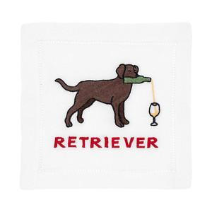 August Morgan Cocktail Napkin August Morgan | Labrador Retriever