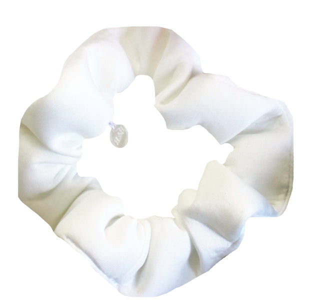 Beau & Ro Bag Company Scrunchie | Neoprene - White
