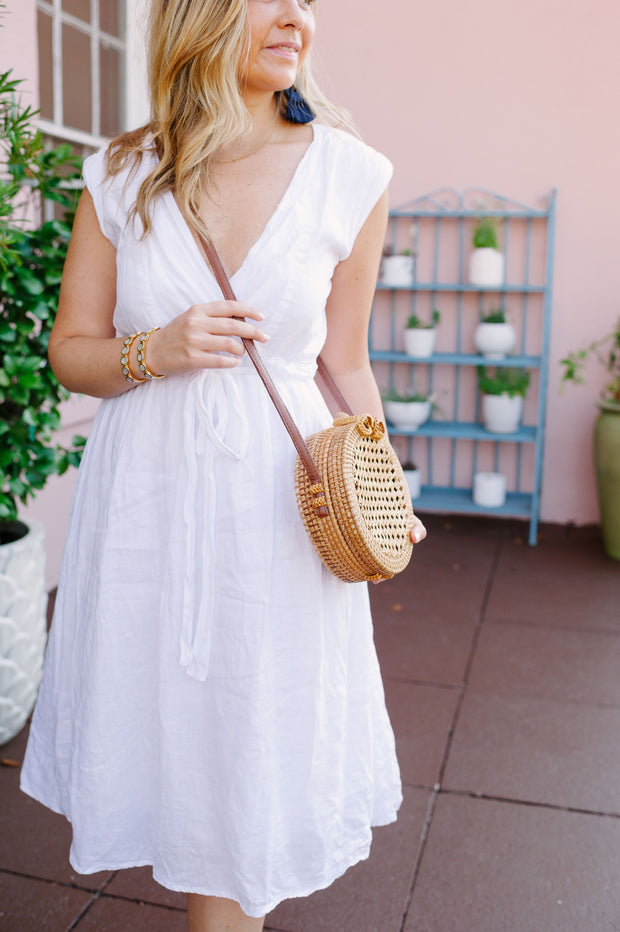 The Battery | Rattan Bag