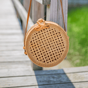 Beau & Ro Bag Company The Battery | Rattan
