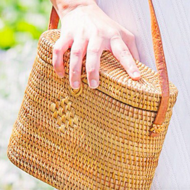 Beau & Ro Bag Company The Church Street | Rattan