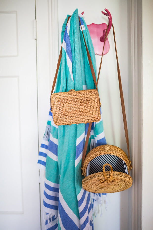 Beau & Ro Bag Company The Tradd Street | Rattan