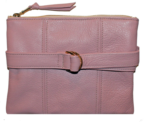 Beau & Ro Belt Bag The Blush Clutch + Belt Bag