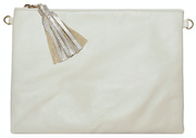 Beau & Ro Clutch + Crossbody Beige The Sconset Clutch + Crossbody Bag | Beige