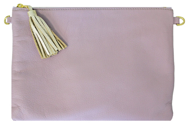Beau & Ro Clutch + Crossbody Lavender The Sconset Clutch + Crossbody Bag | Lavender