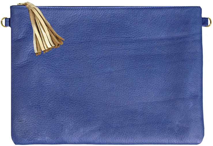 Beau & Ro Clutch + Crossbody Navy Blue The Sconset Clutch + Crossbody Bag | Navy