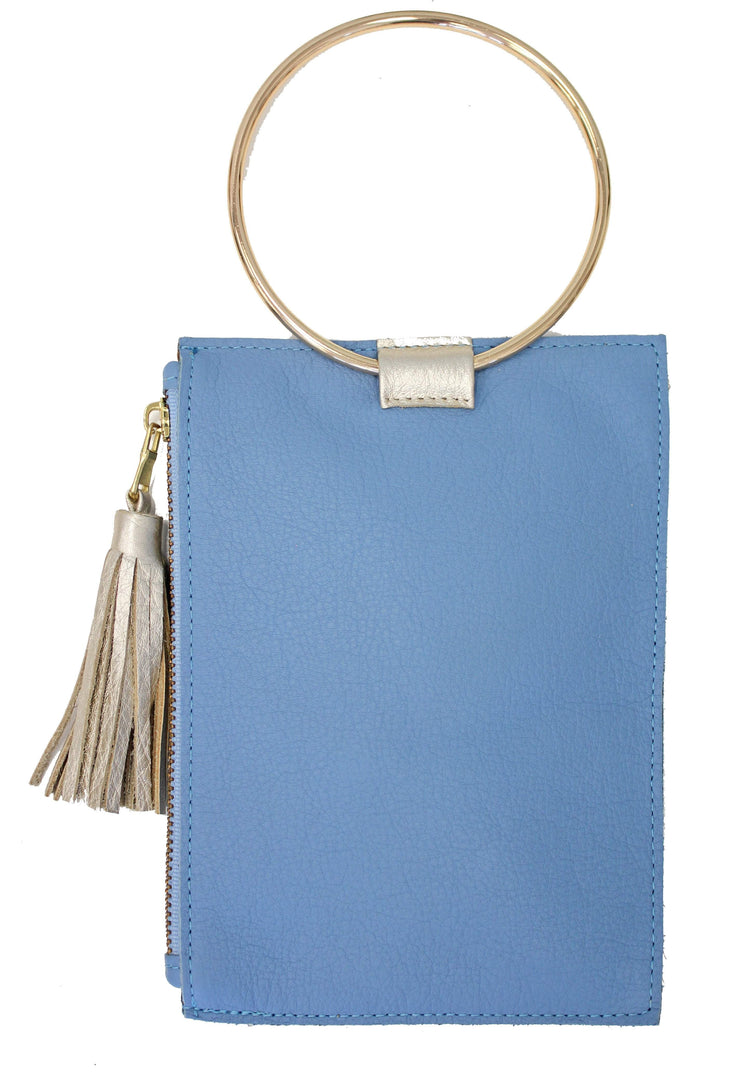 Beau & Ro Wristlet New Blue The Ring Wristlet | New Blue