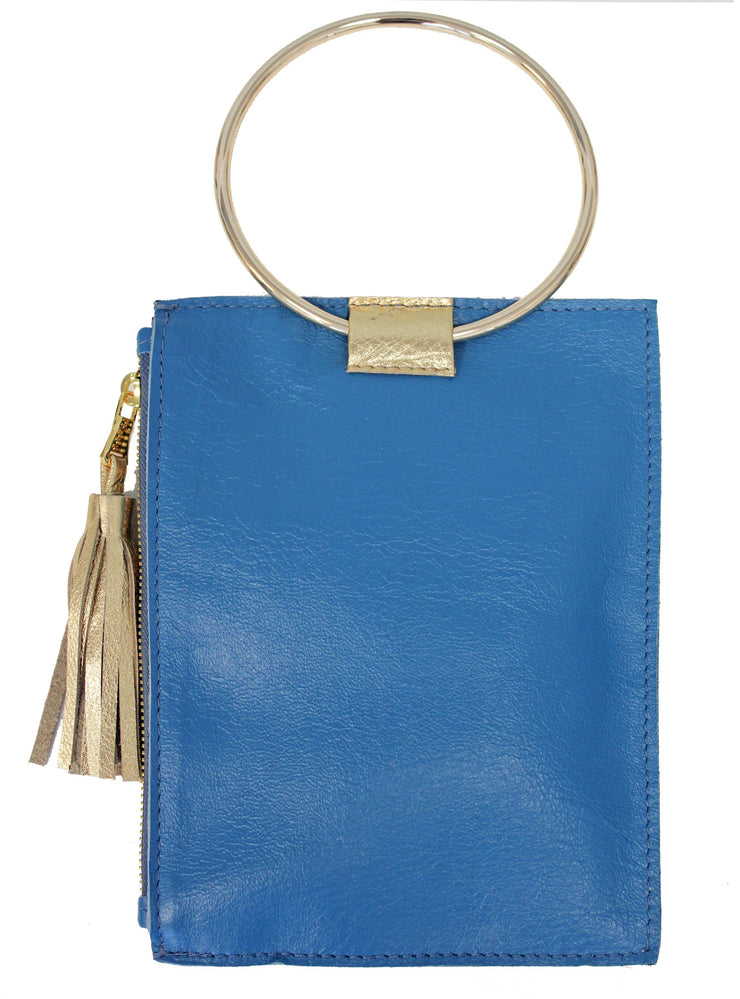 Beau & Ro Wristlet Ocean Blue The Ring Wristlet | Ocean Blue
