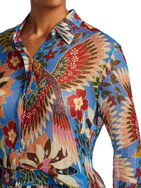 Farm Rio Apparel Farm Rio | Blue Wonderful Toucan Top