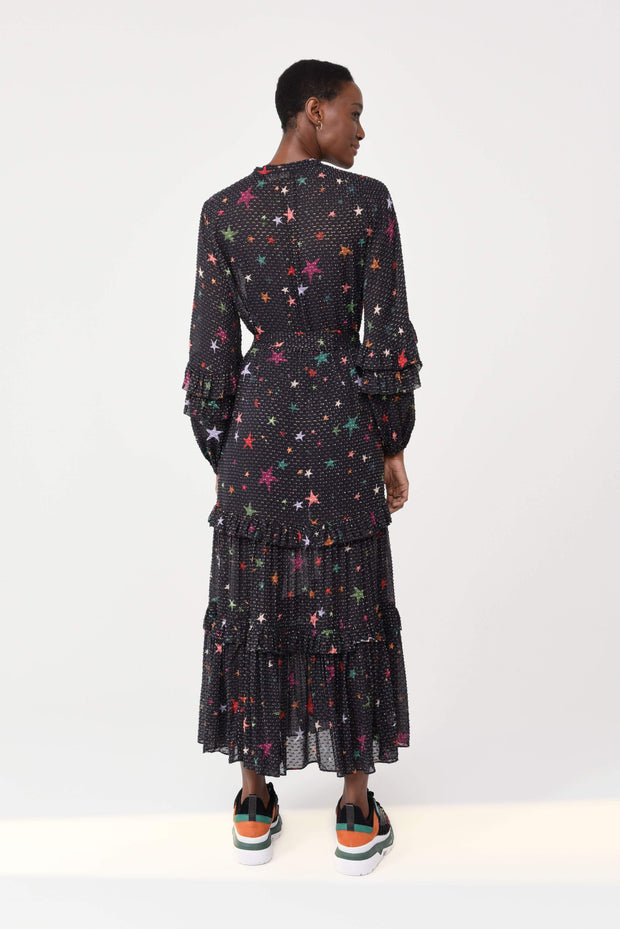 Farm Rio Apparel Farm Rio | Night Sky Maxi Dress