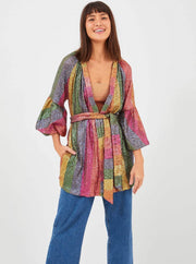 Farm Rio Apparel Farm Rio | Rainbow Sequin Kimono