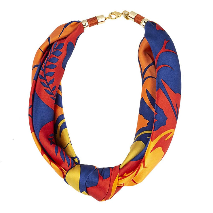 Holst + Lee Jewelry Holst + Lee | Scarf Tie Necklace in Sun & Fire