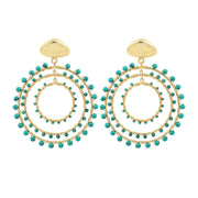 Jam + Rico Jewelry Jam + Rico | Maria Earrings in Turquoise