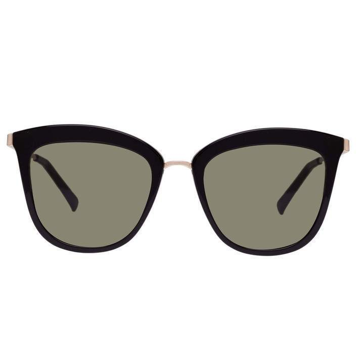 Le Specs Sunglasses Le Specs | Caliente Syrup in Black & Gold