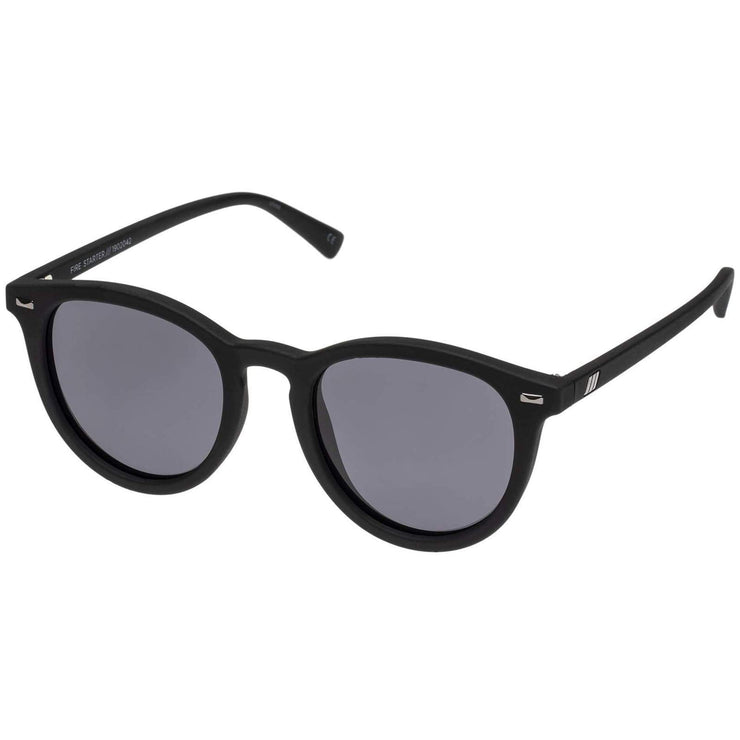 Le Specs Sunglasses Le Specs Sunglasses | Fire Starter in Black Rubber