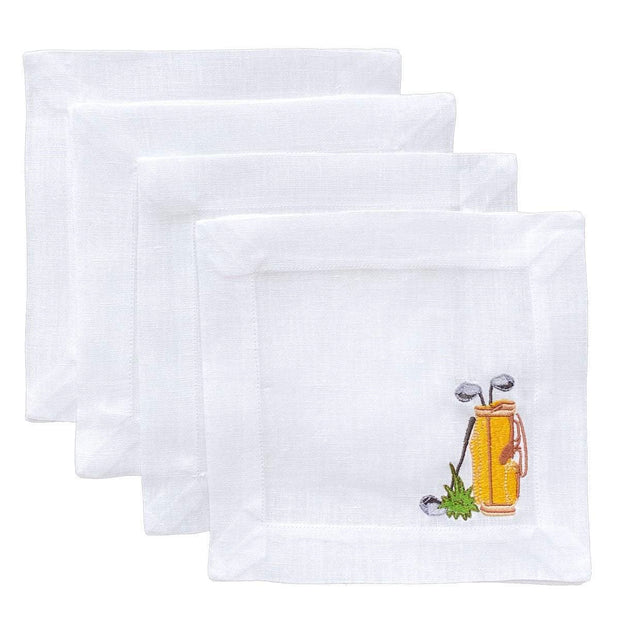 Lettermade Cocktail Napkin Lettermade | Golf Bag Cocktail Napkins