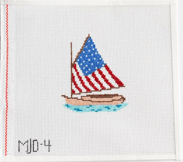 Morgan Julia Designs Needlepoint Morgan Julia Designs | American Sails Needlepoint Kit