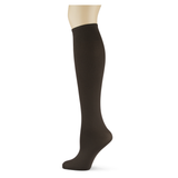 Chocolate Solid Knee Highs