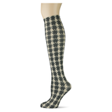 Houndstooth Extra on Fossil Knee Highs