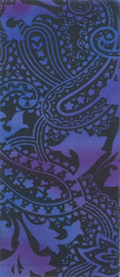 Paisley Potion on Perriwinkle Adult Knee Highs
