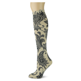 Paisley Perfection on Fossil Knee Highs