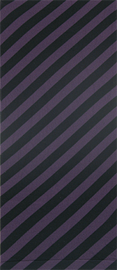 Bias Stripe on Plum Knee Highs