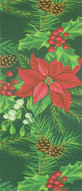 Poinsettia Knee High