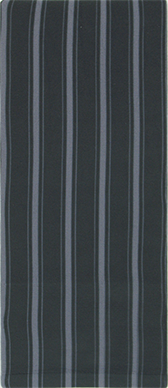 Signature Stripe on Smoke Knee Highs