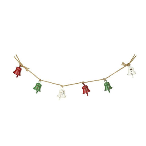 Metal Bells Garland