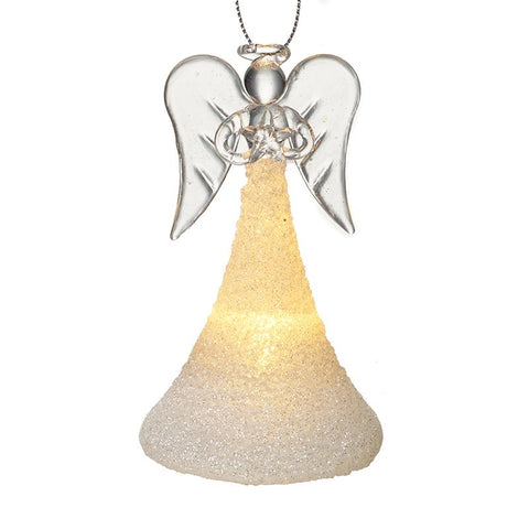Glass Light Up Angel