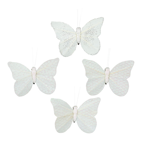 White Butterfly Mix