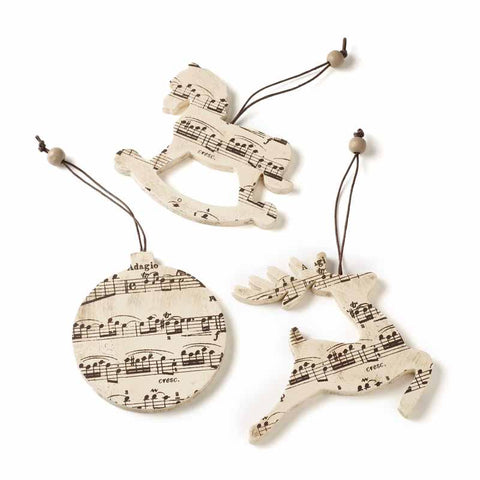 Decorative Music Hangers Mix
