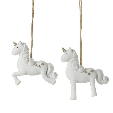 Hanging Resin Unicorn