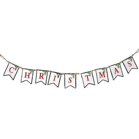 Metal Christmas Garland