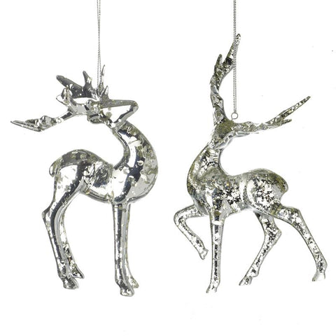 Hanging Reindeer Decoration Mix