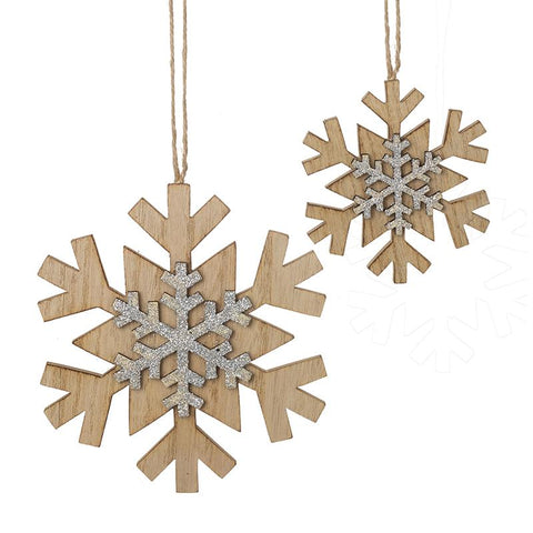 Hanging Snowflake Set