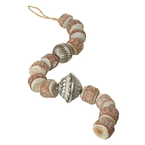 Rustic Wood & Metal Beads