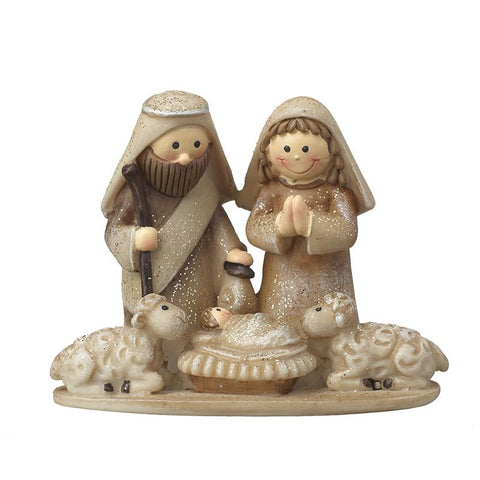 Mary & Joseph Nativity Scene