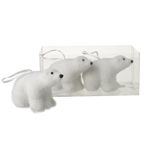 Polar Bear Hangers Set