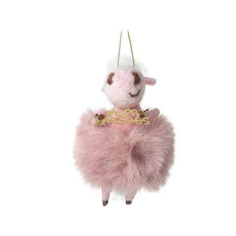 Cow In Pink Fluffy Skirt