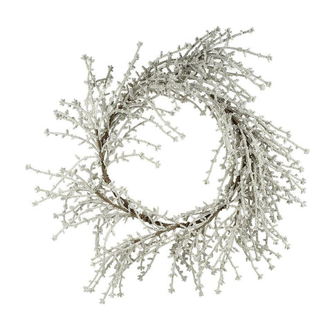 Grey Twig Wreath