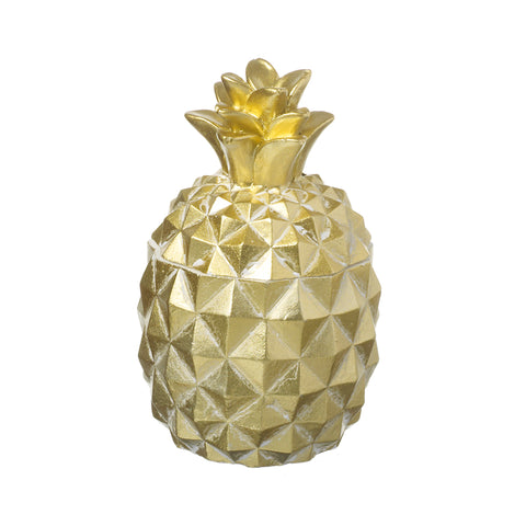 Large Gold Pineapple Candle