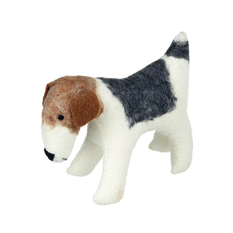 Wool Fox Terrier Dog Decoration
