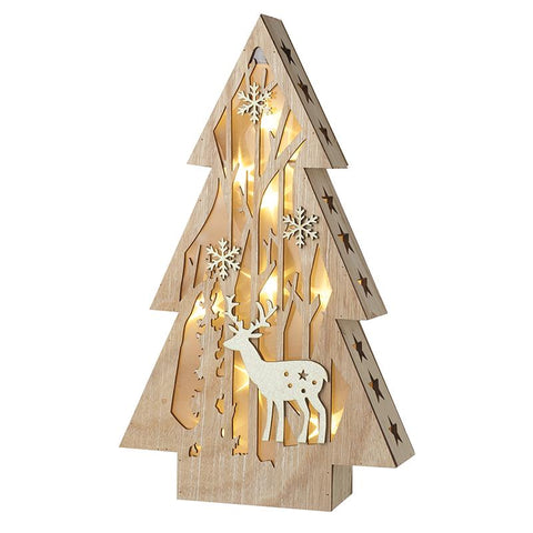 Wooden Led Christmas Tree