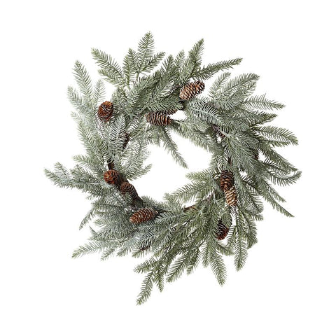 Fir & Pinecone Wreath